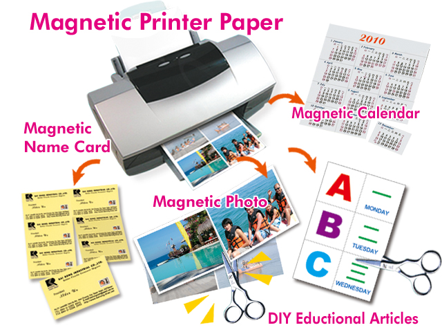 magnetic paper Create personalized magnetic reminders, business cards, emergency phone numbers, and more white magnet sheets ideal for decorations, photo frames, to-do lists.